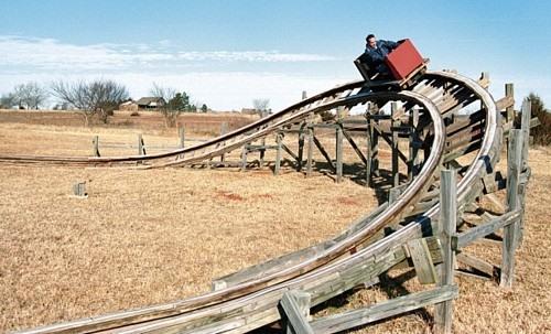 R-i-c-k-e-t-y Backyard Roller Coaster