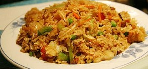 Make Chinese fried rice