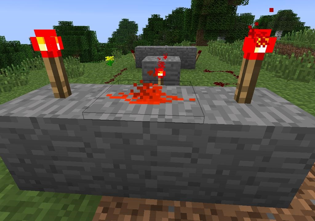 how to turn off redstone torch