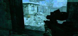 "Walkthrough ""Running With Wolves"" in Medal of Honor on hard on the Xbox 360"