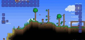 Make a workbench in Terraria