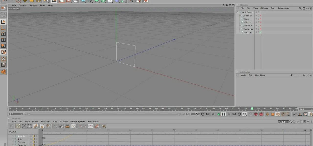 How to Save animation presets for easy access in Cinema 4D