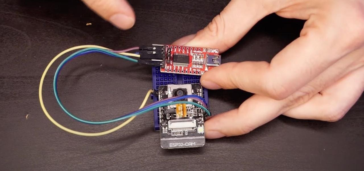 Set Up a Wi-Fi Spy Camera with an ESP32-CAM