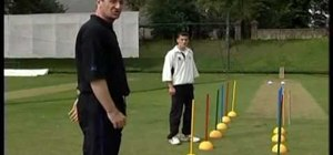 Practice cricket bowling drills