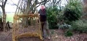 Make a living willow arbor