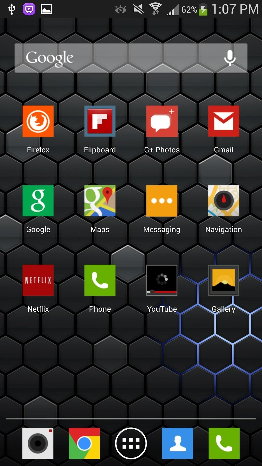 """How to Get """"Metro-Inspired"""" App Icons on Your Samsung Galaxy S4 for a Sleek-Looking Home Screen"""