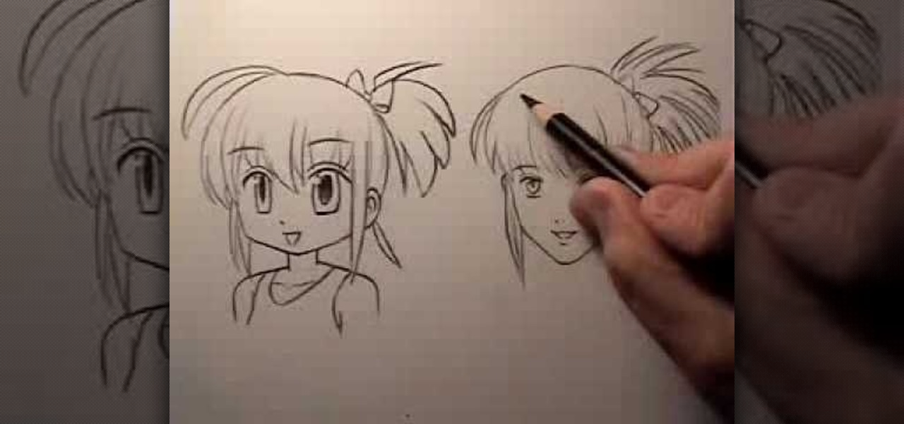 how to draw simple realistic cartoo people