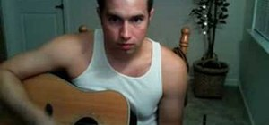 "Play ""I'm Yours"" by Jason Mraz on acoustic guitar"