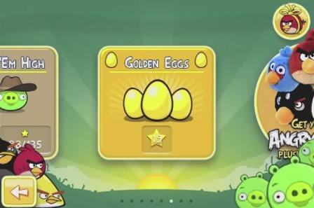the new level go to the golden eggs level selector