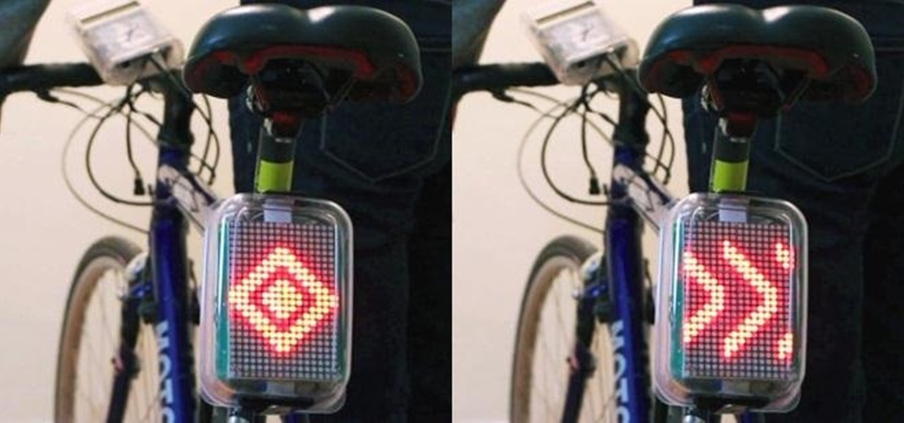 This Diy Arduino Bicycle Safety System Includes Turn