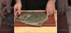 Prepare flat fish