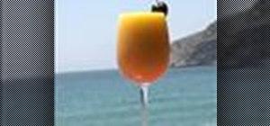 Make a Batida Mango cocktail