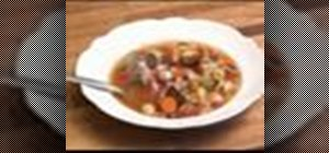 Make vegetable soup