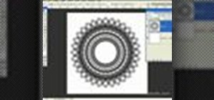 Create lace doilies in Photoshop CS2