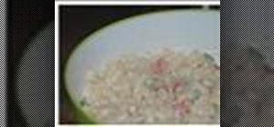 Preparenorthern-style macaroni salad