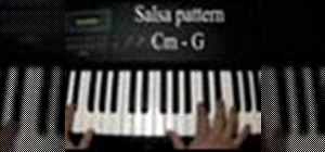 Play Latin patterns on the piano