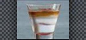 Make a Brandy Mint Float cocktail