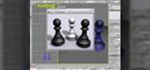 Create a pawn piece using 3ds Max
