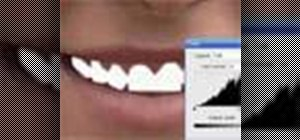 Whiten teeth in Photoshop with the pen tool