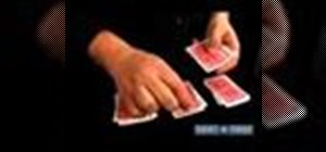 Perform card magic tricks that work by themselves