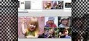 Create a book in iPhoto '08