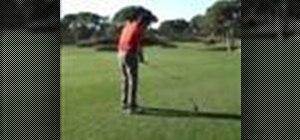 Hit a fade golf shot