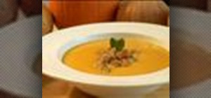 Make pumpkin soup