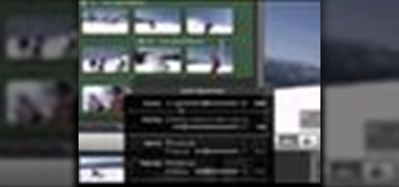 How to Tag and filter with keywords in iMovie '08 « iMovie