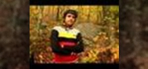Downhill mountain bike on steep terrain