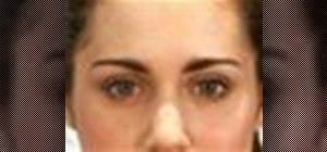 Apply eyebrow makeup