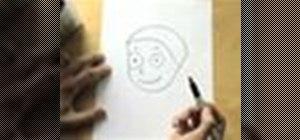 """Draw a boy using the word """"boy"""""""