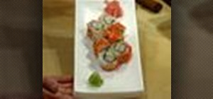 Make California sushi roll