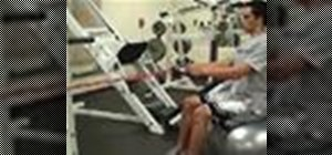 Do a seated row back exercise with resistance tubing