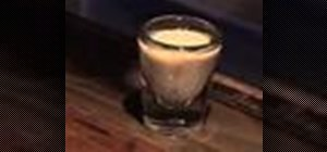 Mix a B52 Grand Marnier liqueur shot