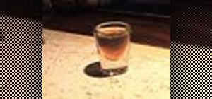 Mix a Liquid Cocaine alcoholic shot