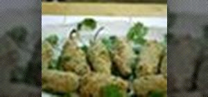 Make stuffed jalapeños