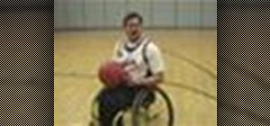 Play wheelchair basketball