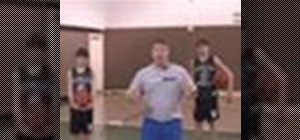 Do warm-up stretches and drills for youth basketball