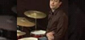 Play rock drum beat patterns