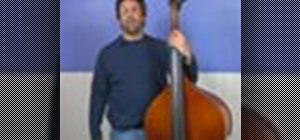 Play the upright bass