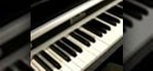 Play blues piano in the key of D Major