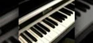 Playblues piano in the key of D Major