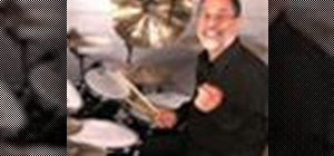 Use open-handed playing on the drums