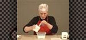 Use PVA and methyl cellulose glues