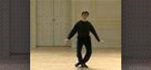 "Do a Baroque bourée from ""La Savoye"" dance"