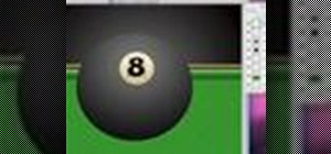 Create a virutal pool table in Photoshop