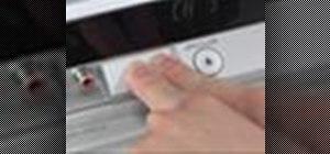 Set English as the language on a Panasonic DMR-ES15