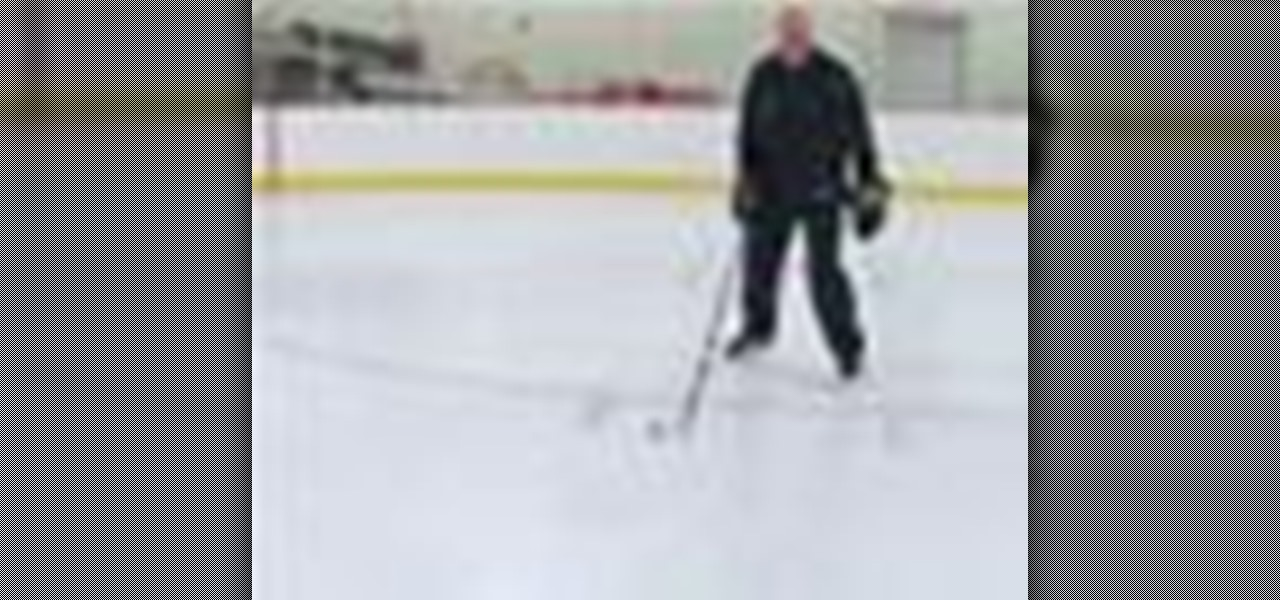 How to One foot stop on ice skates « Hockey