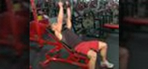 Execute incline dumbbell flys for weightlifiting
