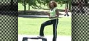 Do step aerobics